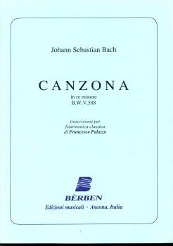 Johann Sebastian Bach, Canzona in Re min. BWV 588